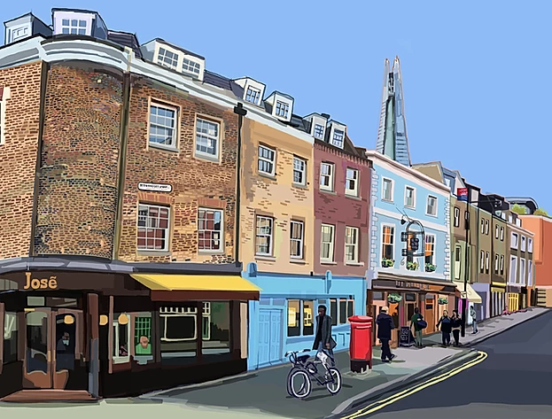 Tomartacus Print Bermondsey Street
