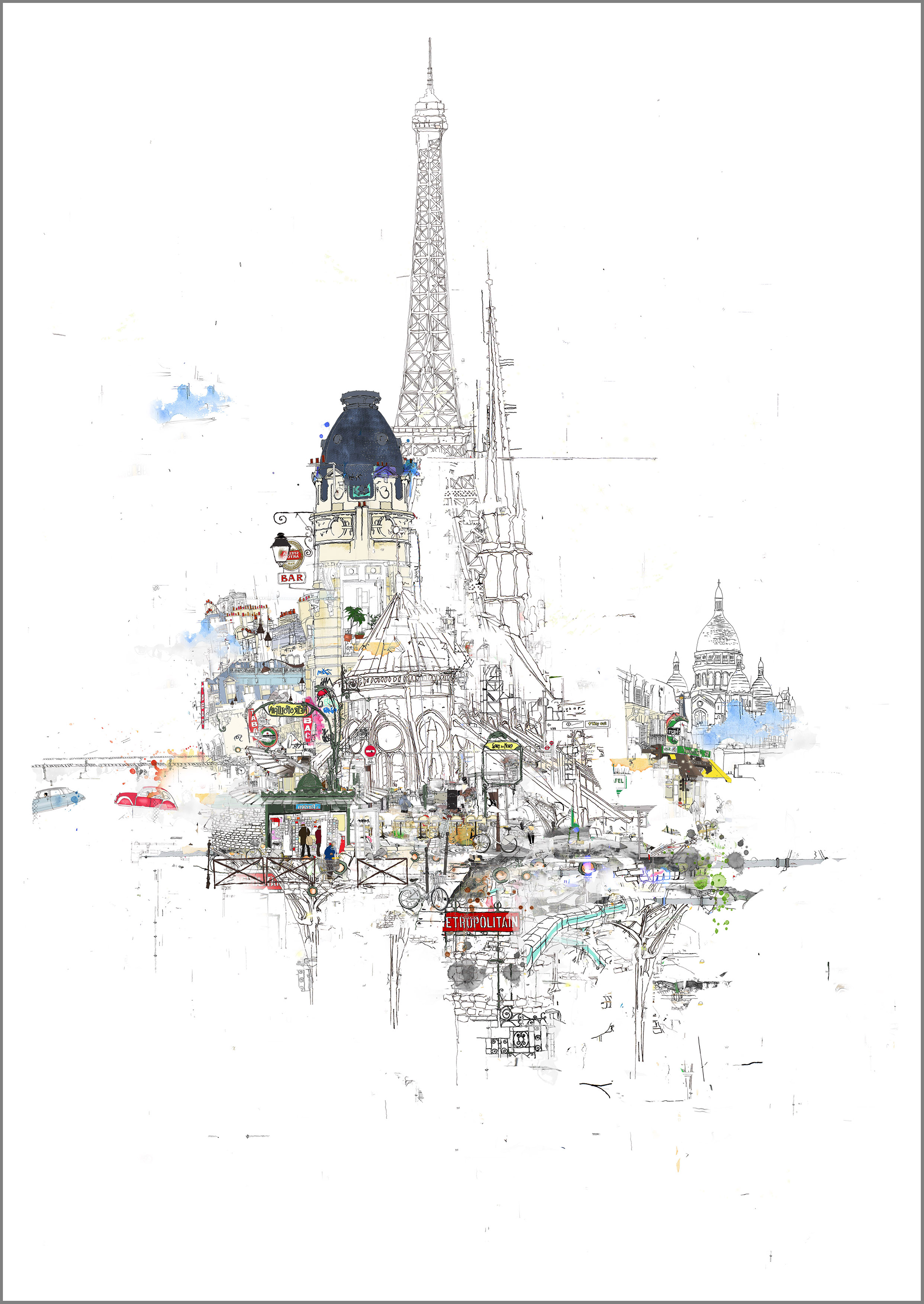 Laura Jordan Notre Dame (unframed)