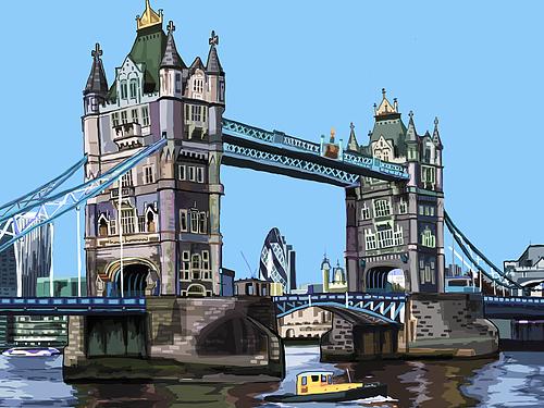 Tomartacus Print Tower Bridge