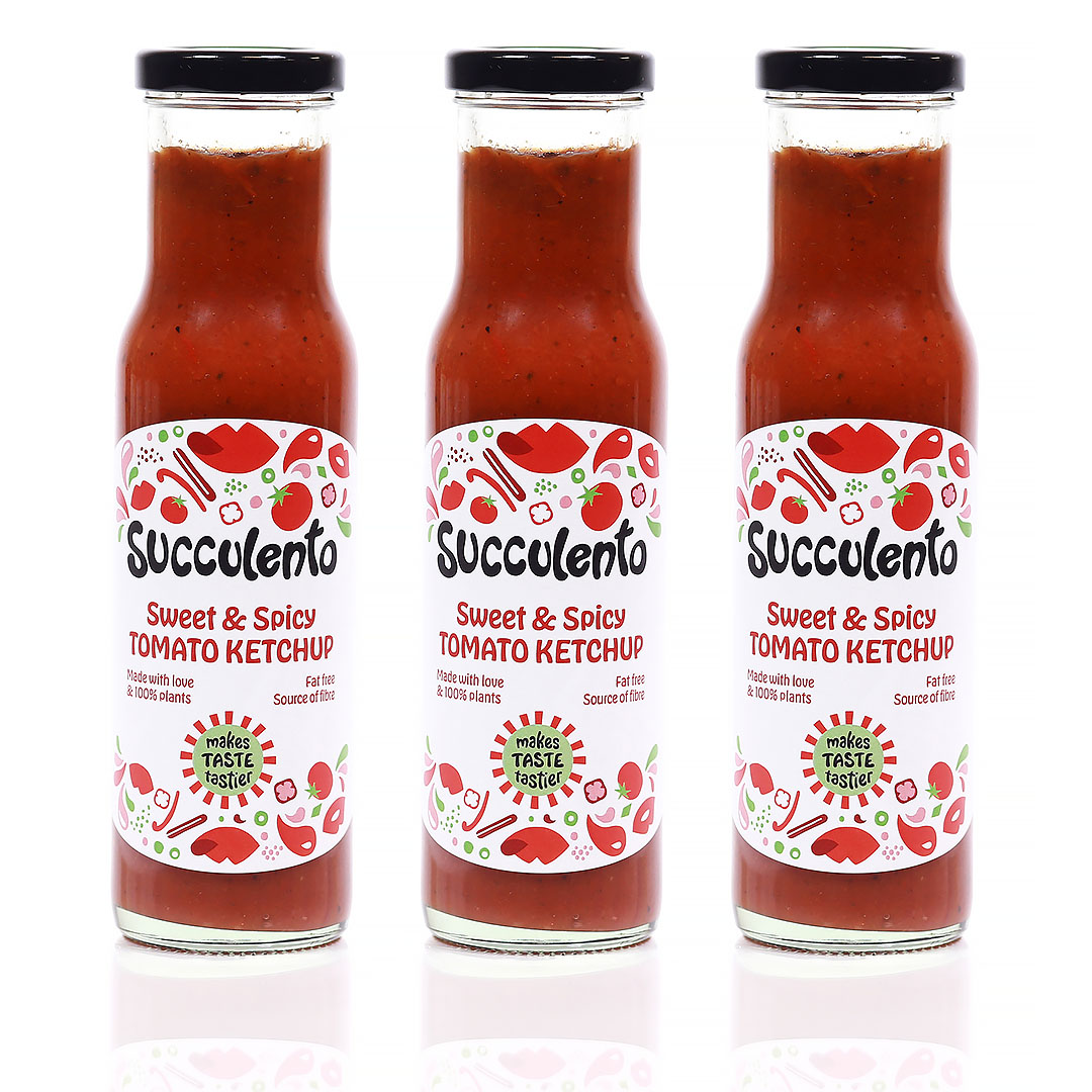 Succulento Sweet & Spicy Tomato Ketchup