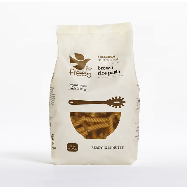 Doves Farm Free From Brown Rice Fusilli Pasta
