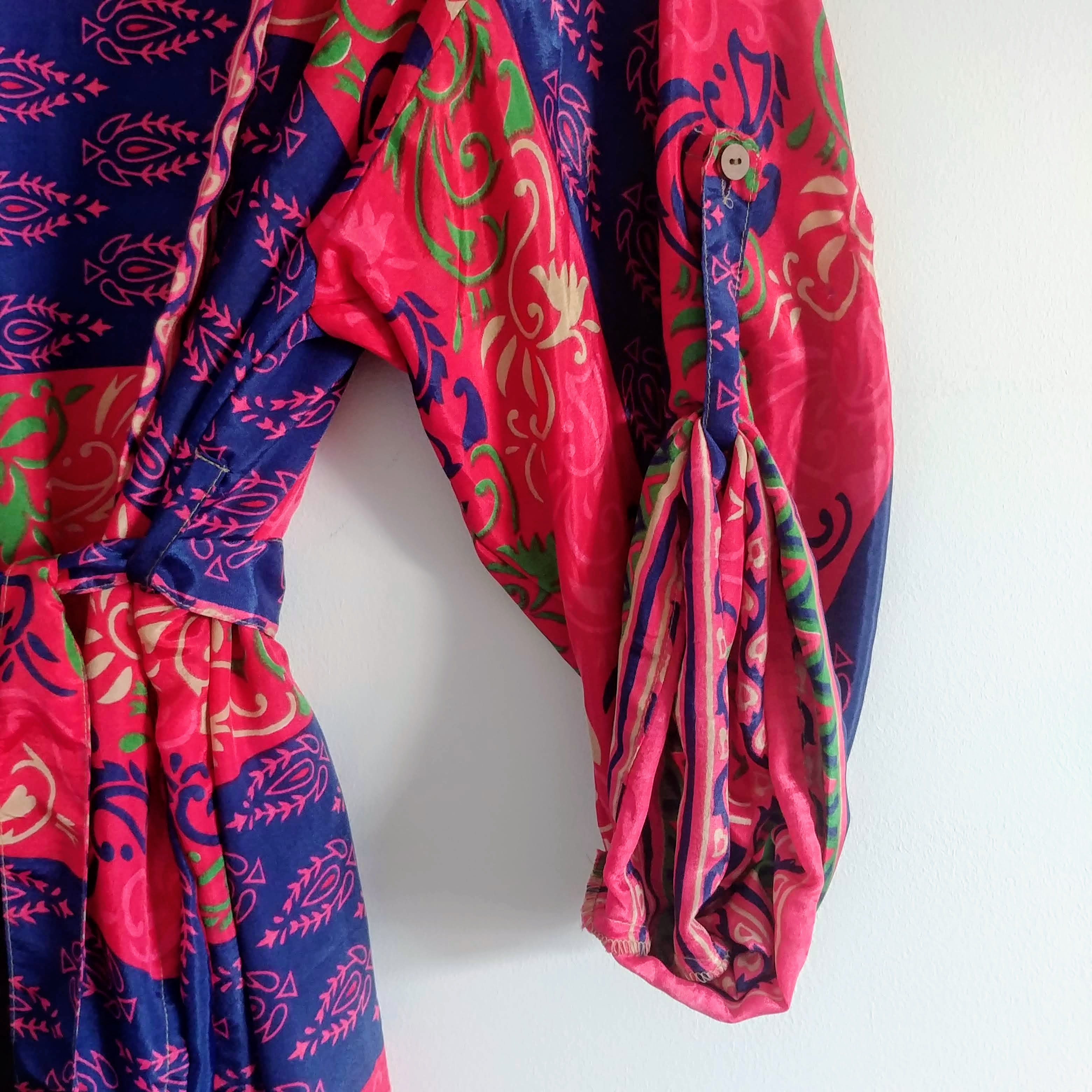 The Kimono Company - Long Kimono, Pink & Purple