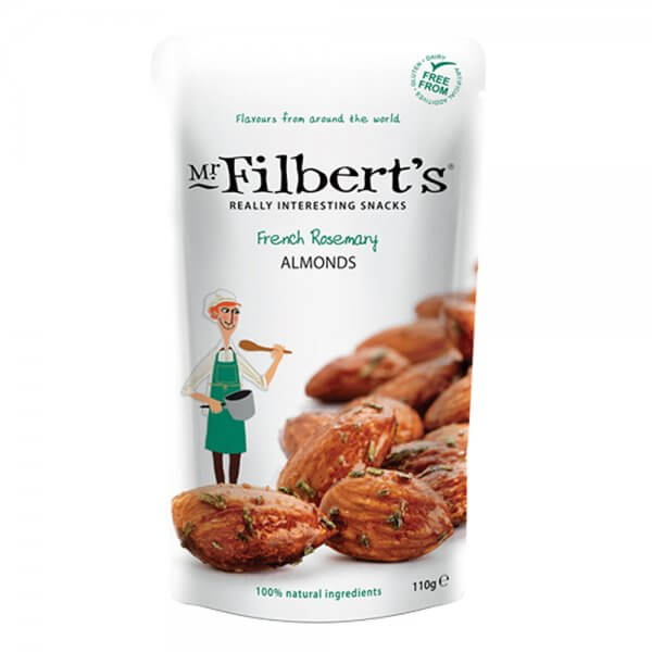 Mr Filberts French Rosemary Almonds