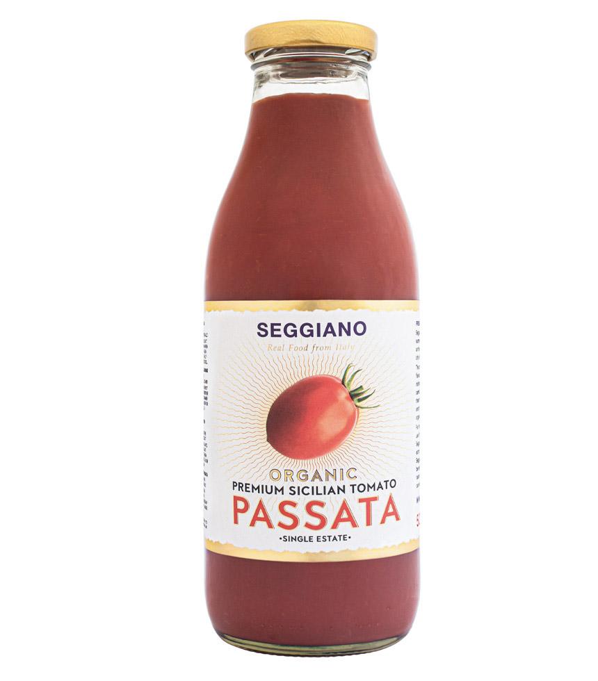 Seggiano Organic Premium Sicilian Tomato Passata
