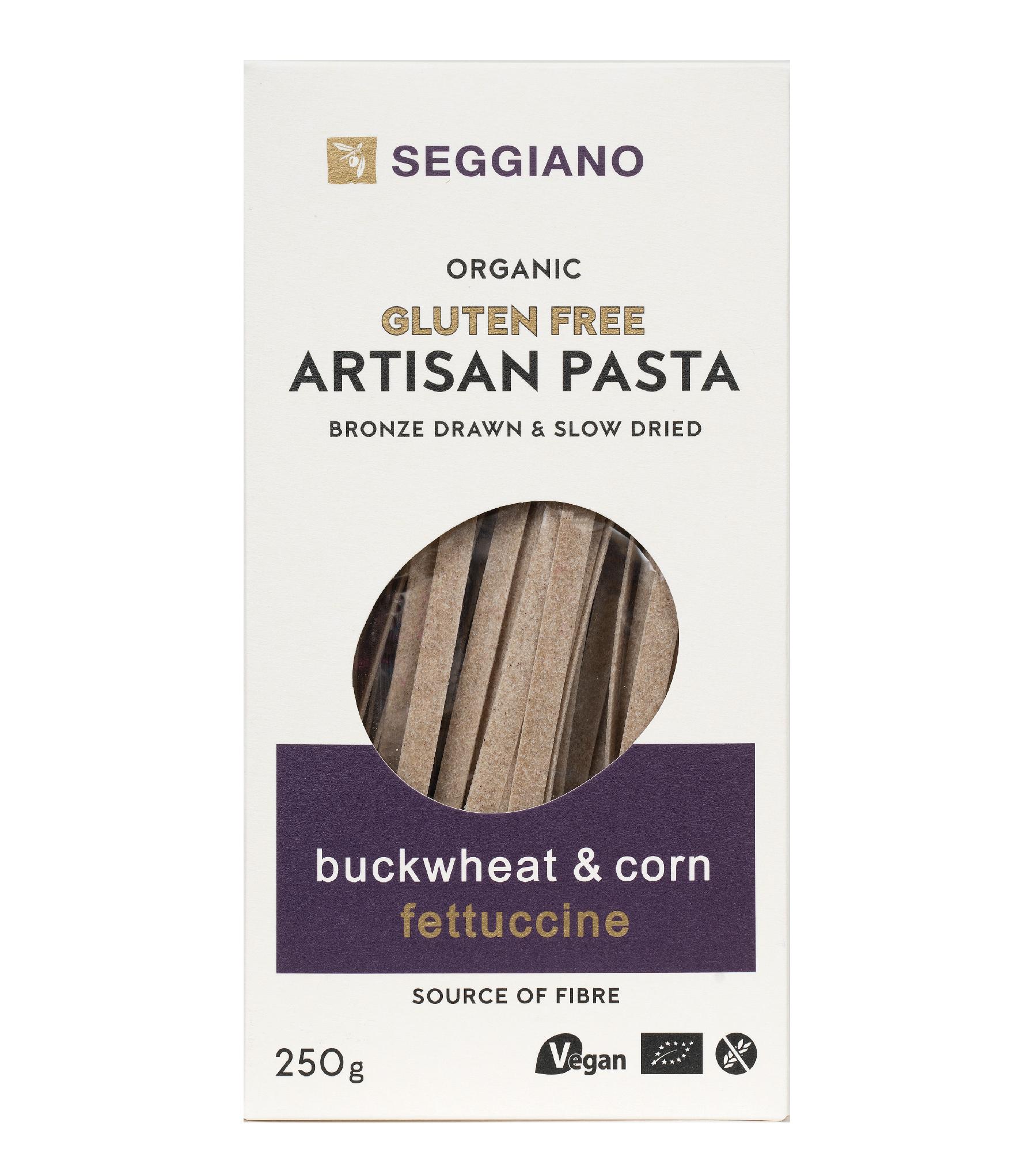 Seggiano Organic Buckwheat & Corn Fettuccine