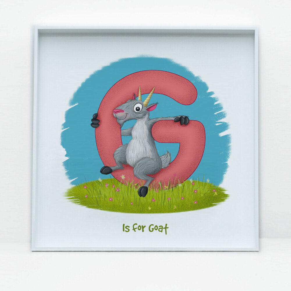 SDB Illustration_G is for Goat