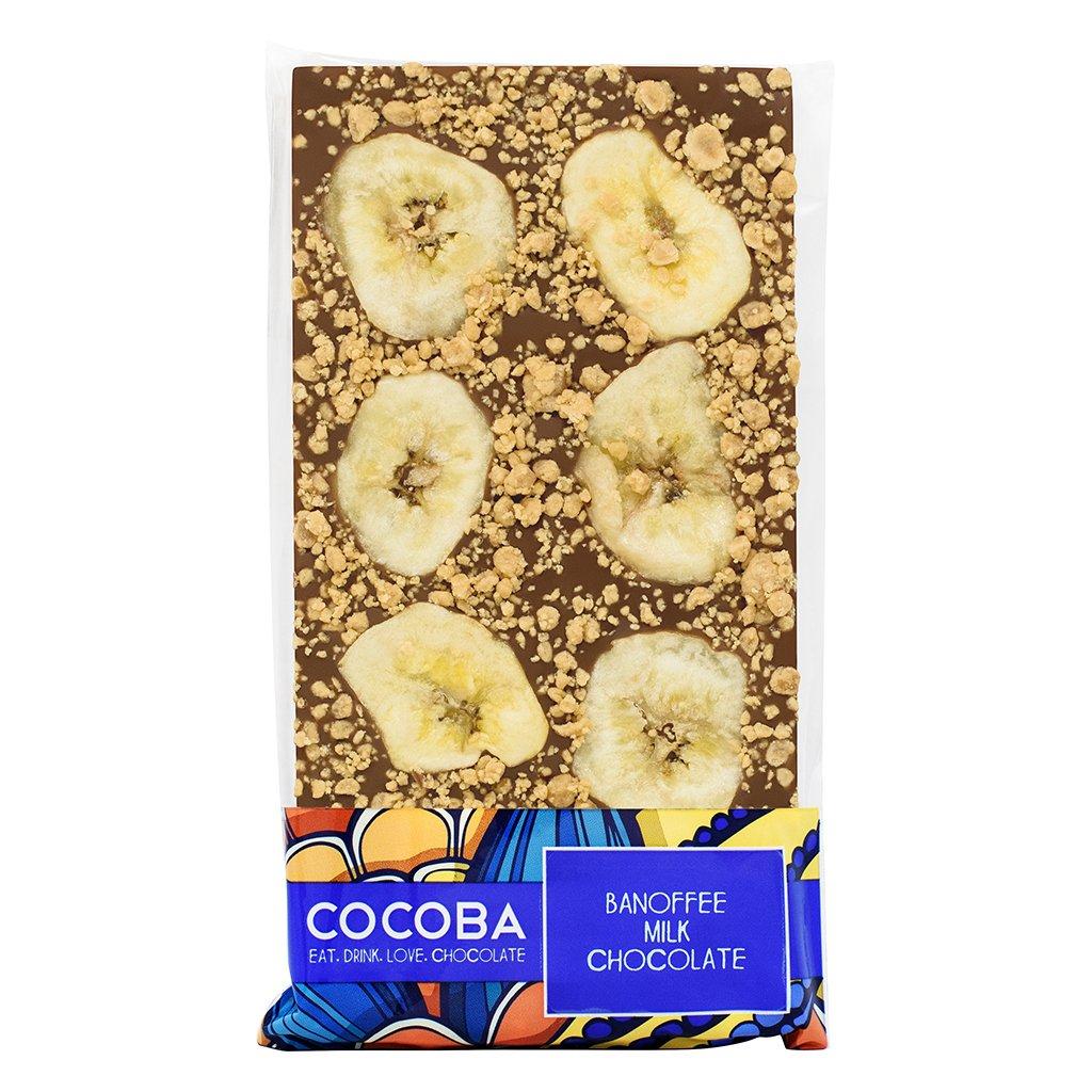 Cocoba Banoffee Milk Chocolate Bar