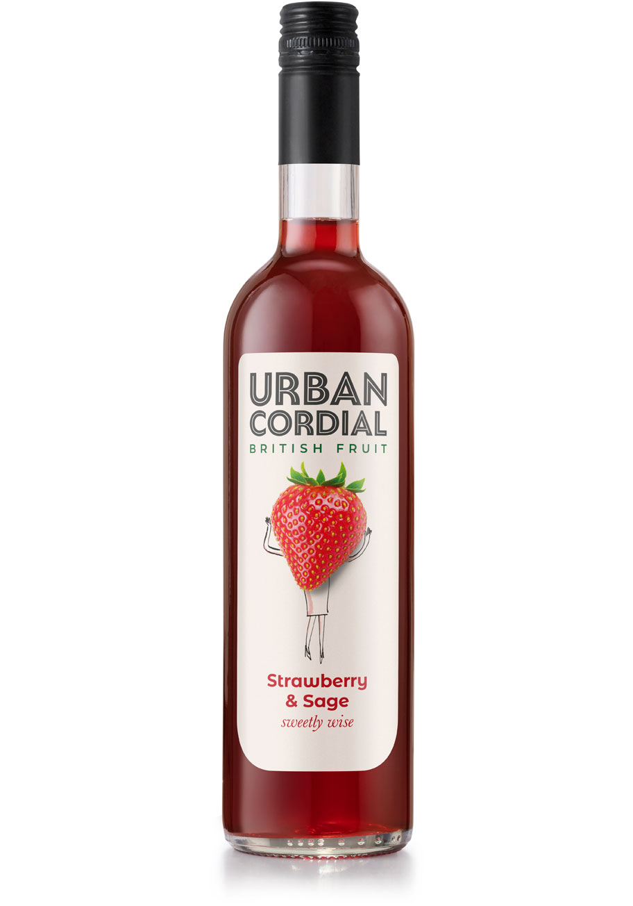 Urban Cordial Strawberry and Sage