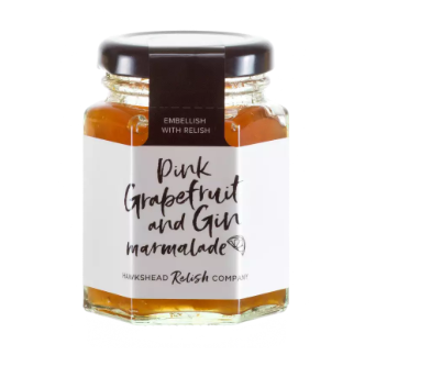 Hawkshead Relish Co Pink Grapefruit & Gin Marmalade