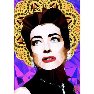 Egoiste Gallery Joan Crawford Signed A4 Print