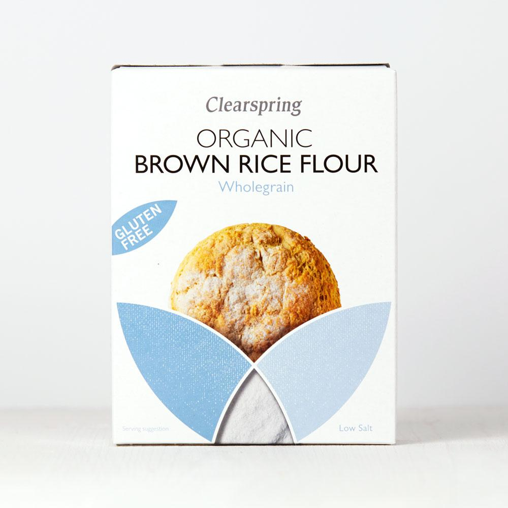 Clearspring Organic Brown Rice Flour Wholegrain