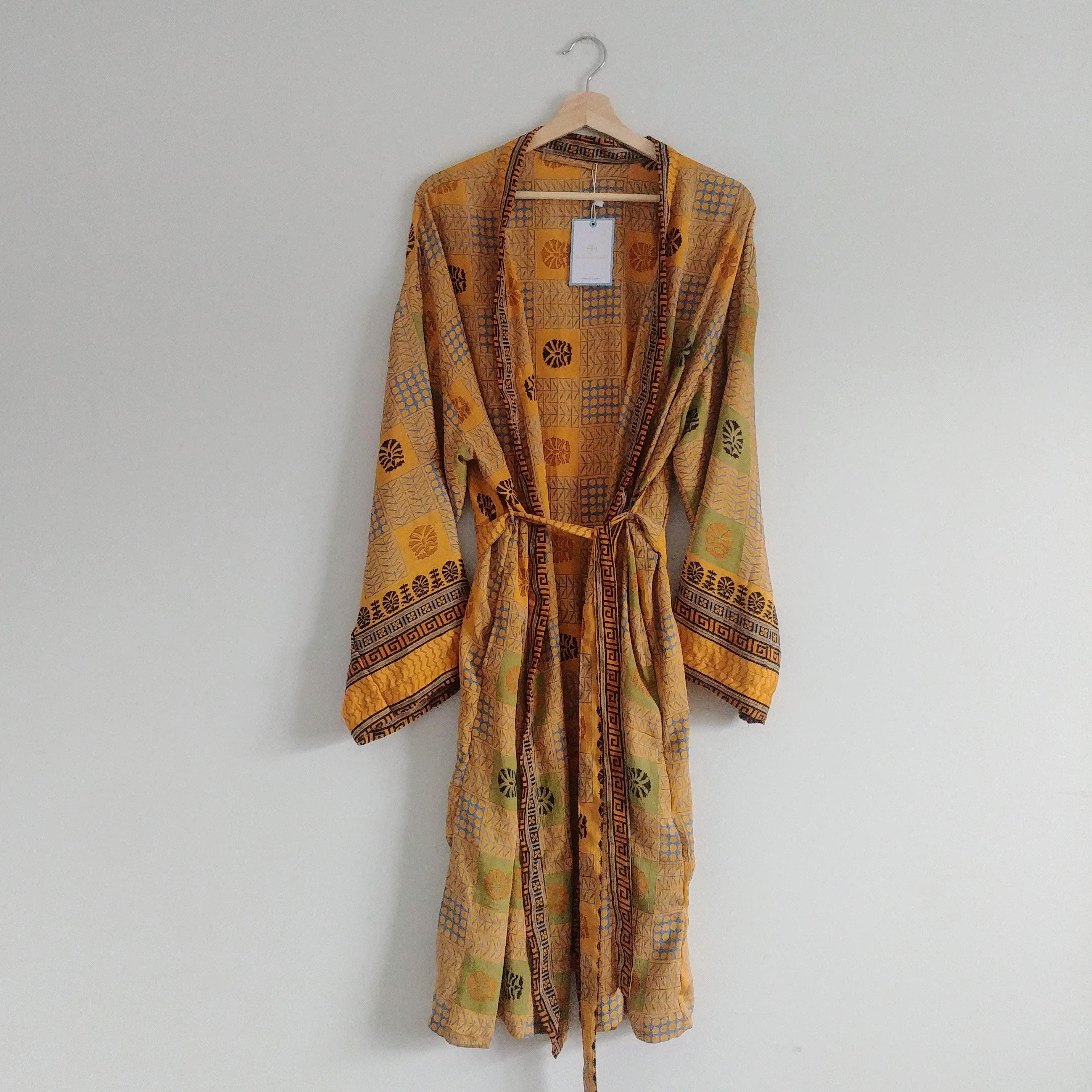 The Kimono Company - Short Kimono, Patchwork