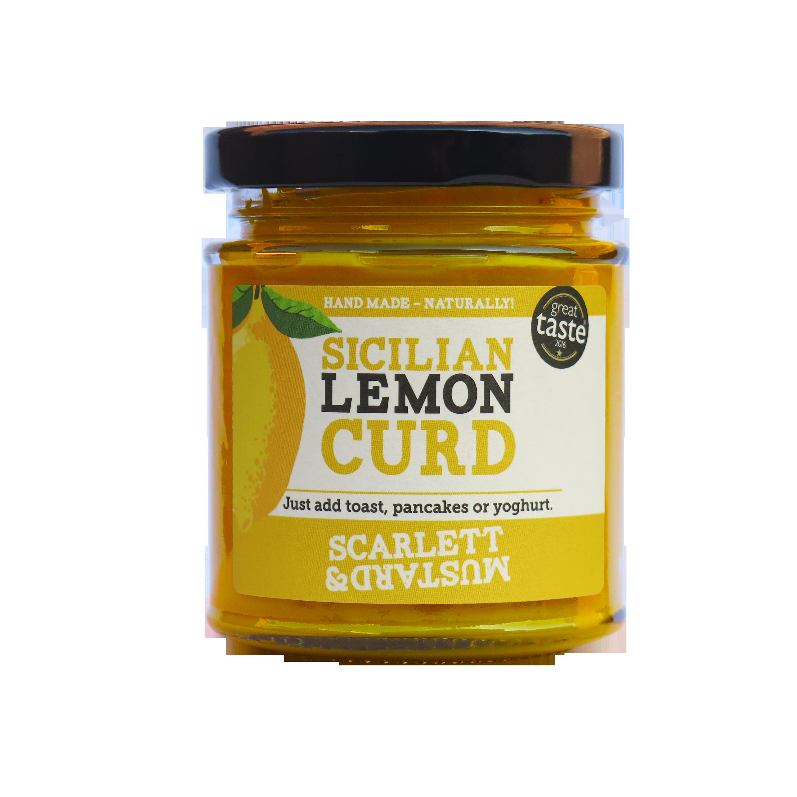 Scarlett & Mustard Sicilian Lemon Curd