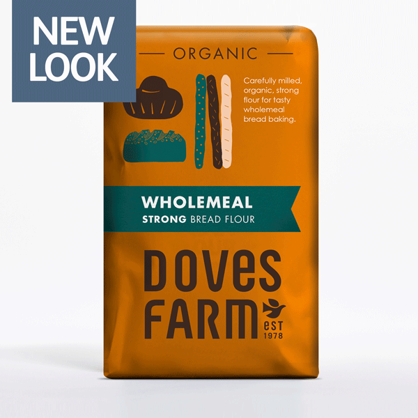 Doves Farm Organic Strong Wholemeal Bread Flour