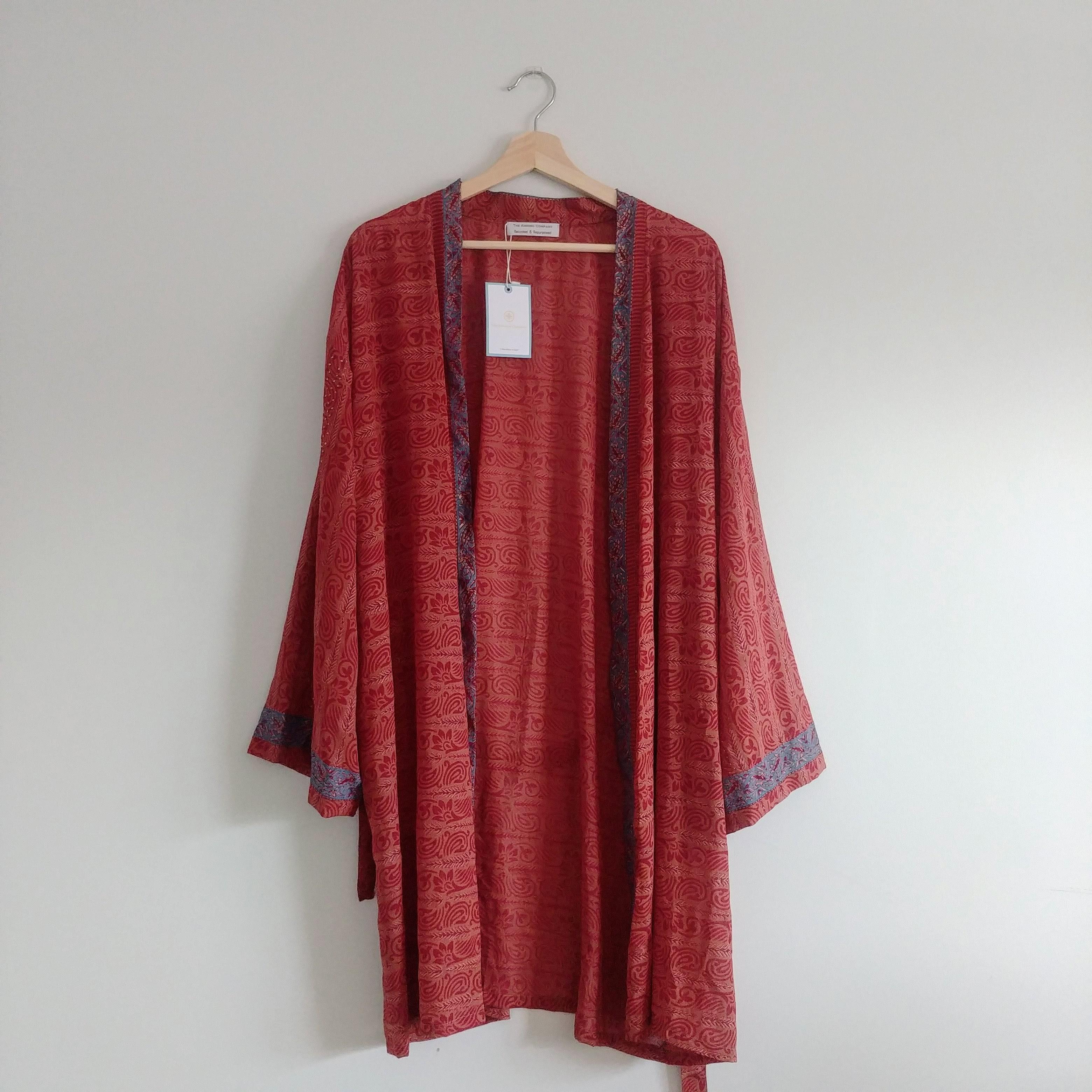 The Kimono Company - Short Kimono, Rouge