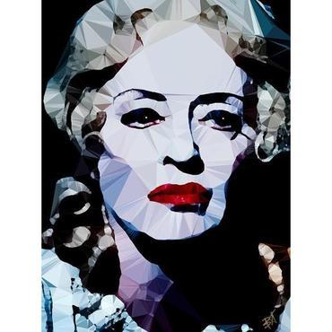 Egoiste Gallery Bette Davis (Baby Jane) Signed Print
