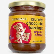 Seggiano Organic Crunchy Chocolate Hazelnut Spread