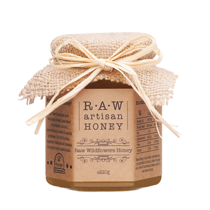 Raw Artisan Wildflowers Honey
