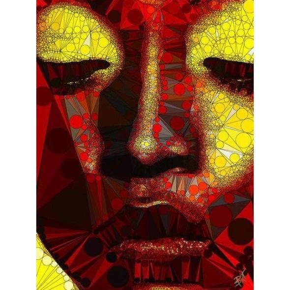 Egoiste Gallery Nefertiti Signed A4 Print