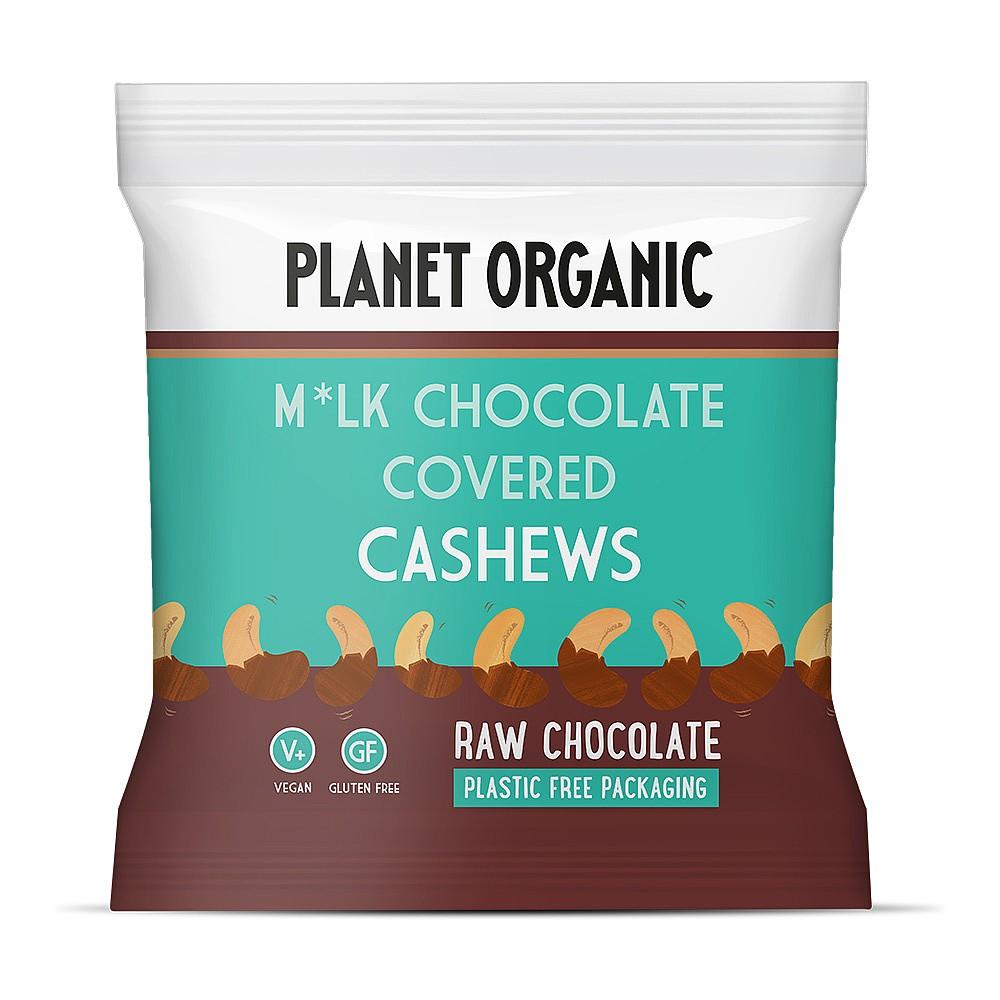 Planet Organic Chocolate Covered Cashews
