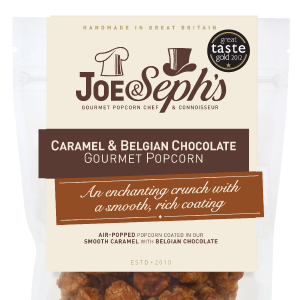 Joe & Seph's Caramel & Belgian Chocolate
