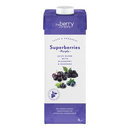 The Berry Company Superberries Purple Juice Blend