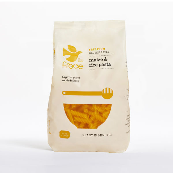 Doves Farm Free From Maize & Rice Fusilli Pasta