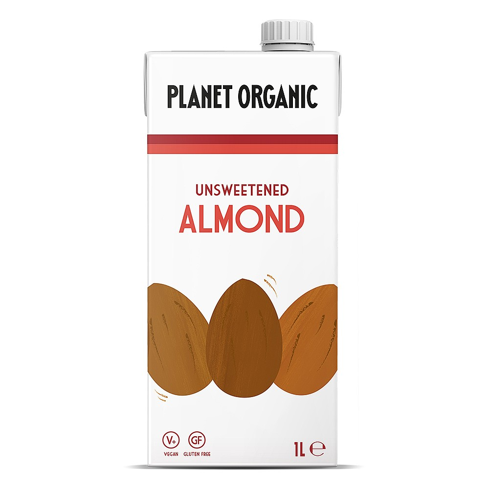 Planet Organic Unsweetened Almond Drink