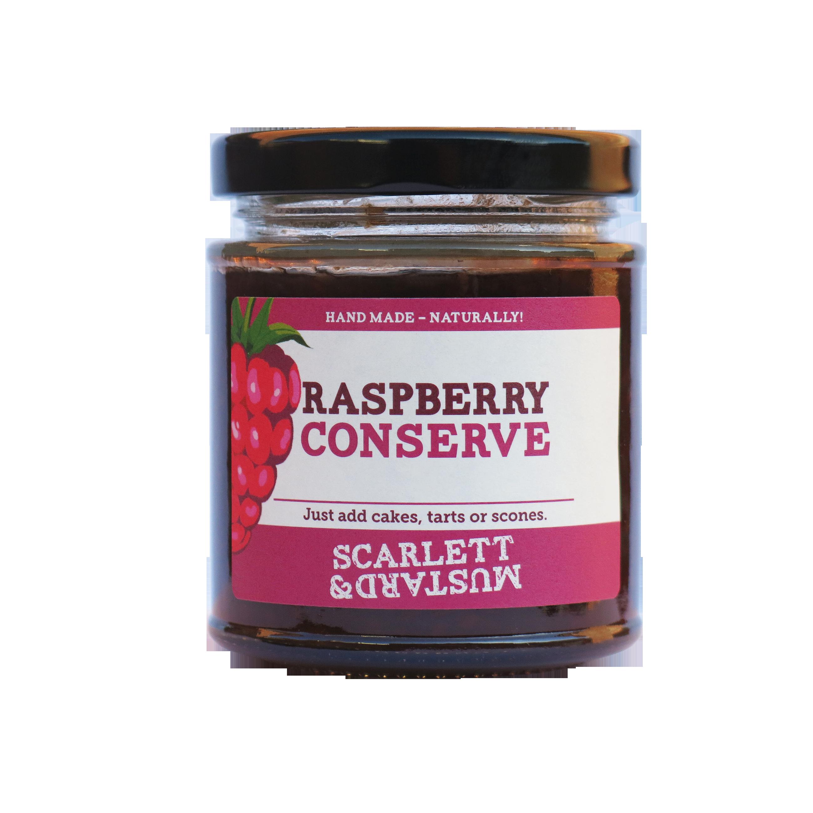 Scarlett & Mustard Raspberry Conserve