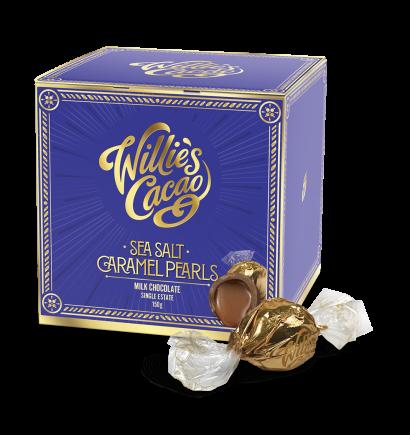 Willie's Cacao Sea Salt Milk Caramel Pearls