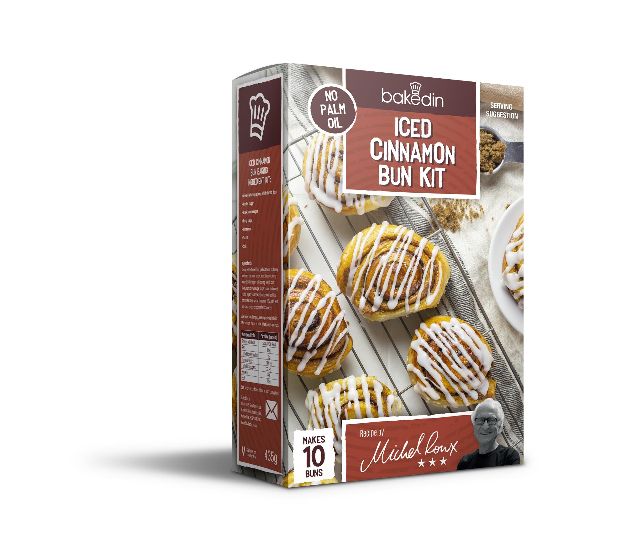 Baked In Iced Cinnamon Bun Kit