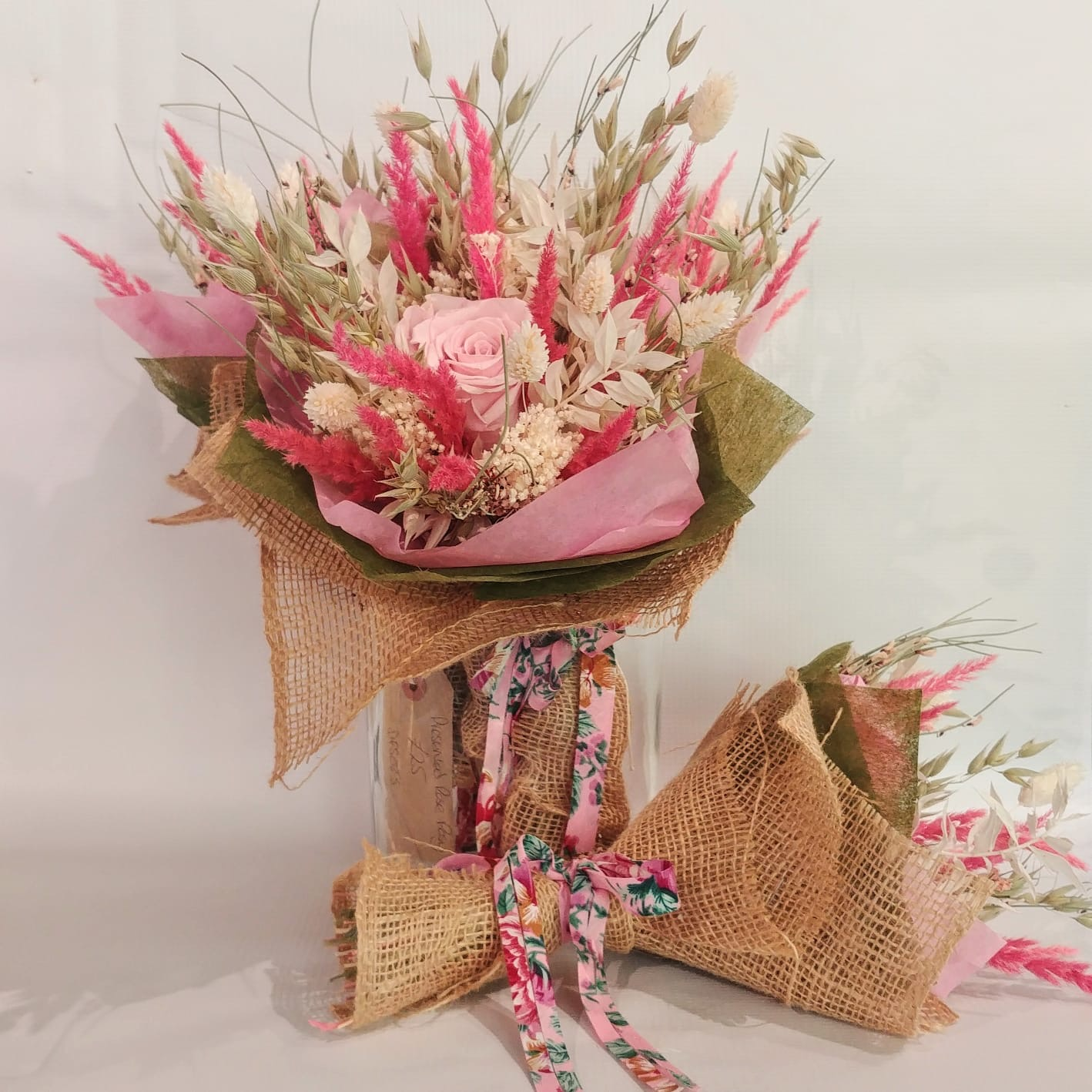 The Dried Flower Shop Preserved Rose Posy