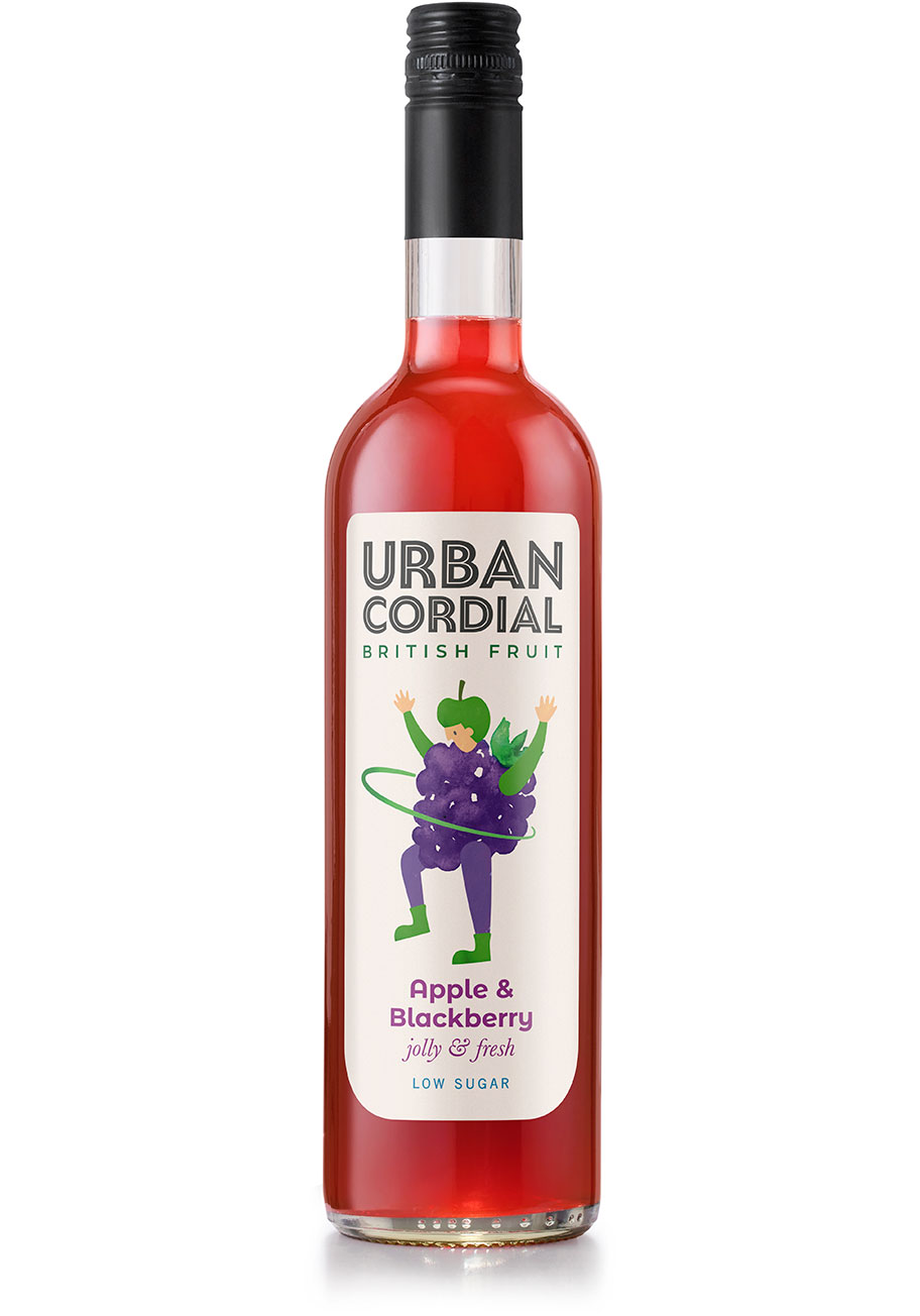 Urban Cordial Apple and Blackberry