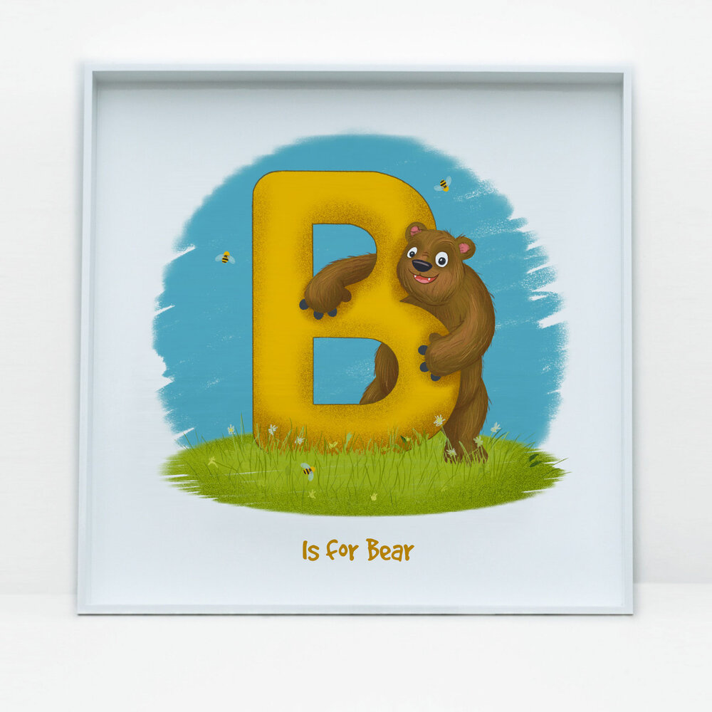 SDB Illustration_B is for Bear