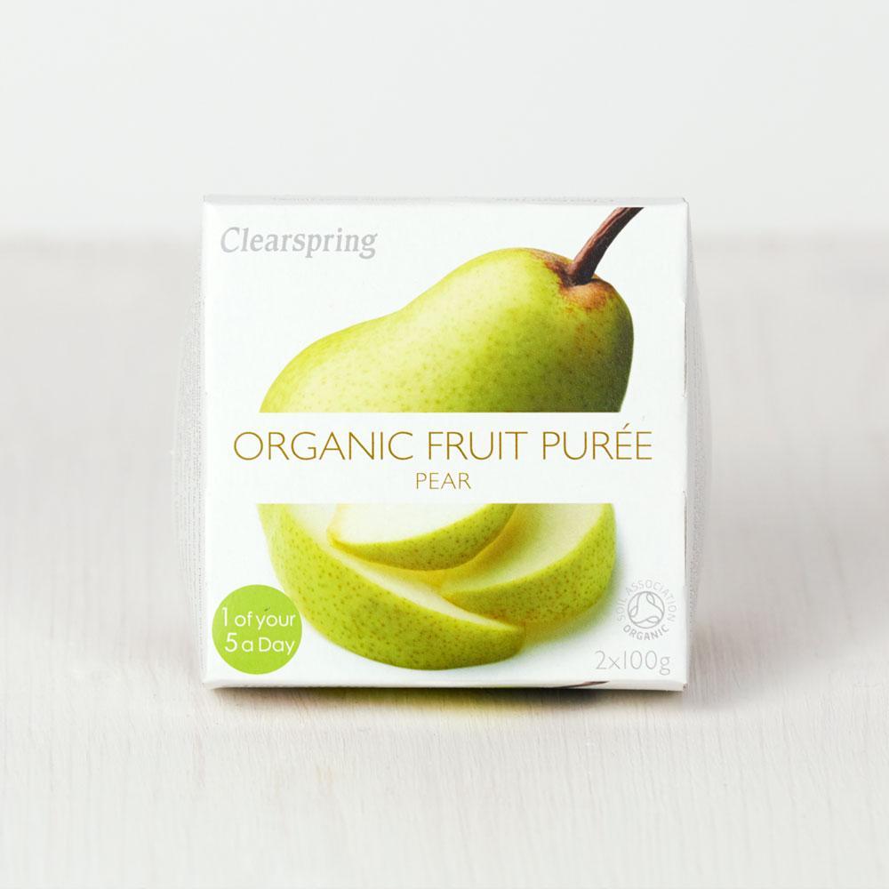 Clearspring Organic Fruit Puree - Pear