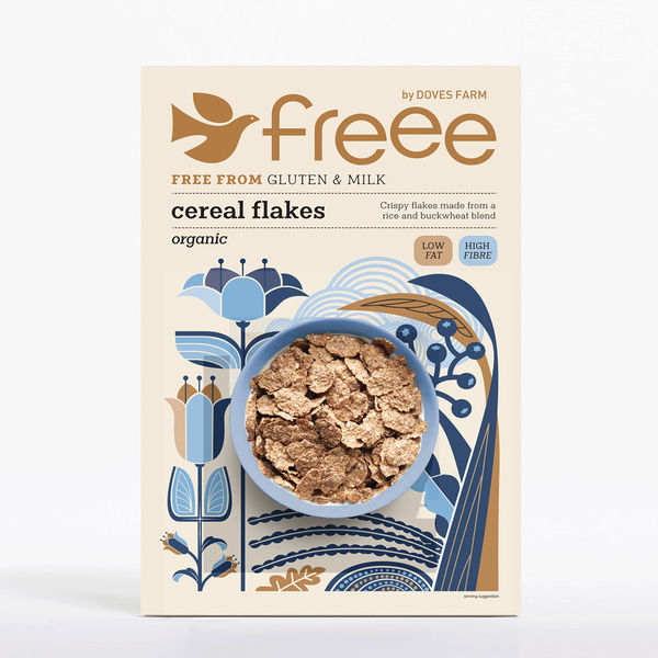Doves Farm Free From Organic Cereal Flakes