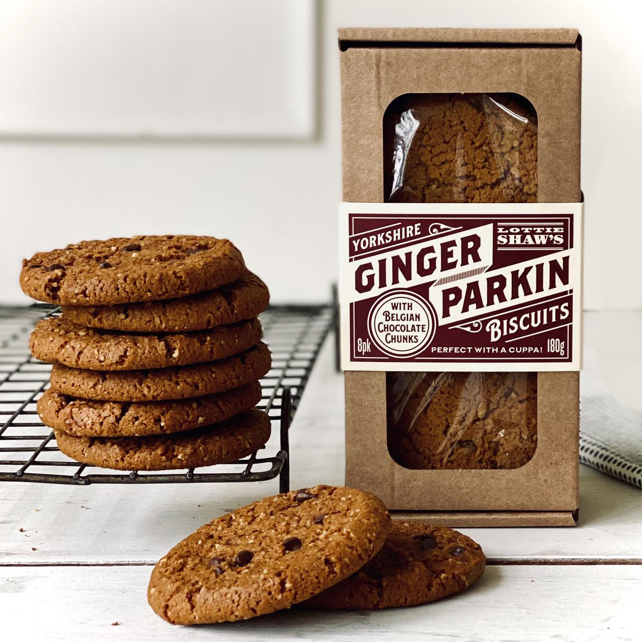 Lottie Shaw's Ginger Parkin & Choc Biscuit Box