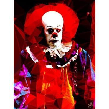 Egoiste Gallery Pennywise Signed A4 Print