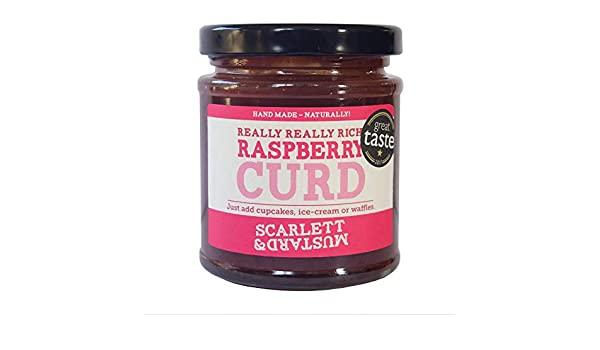 Scarlett & Mustard Raspberry Curd