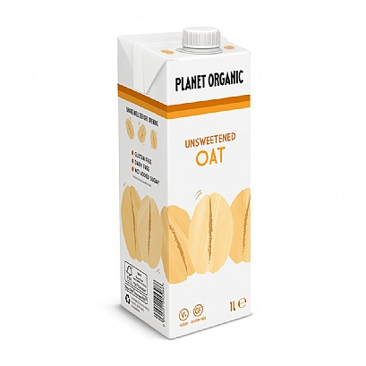 Planet Organic Unsweetened Oat Drink