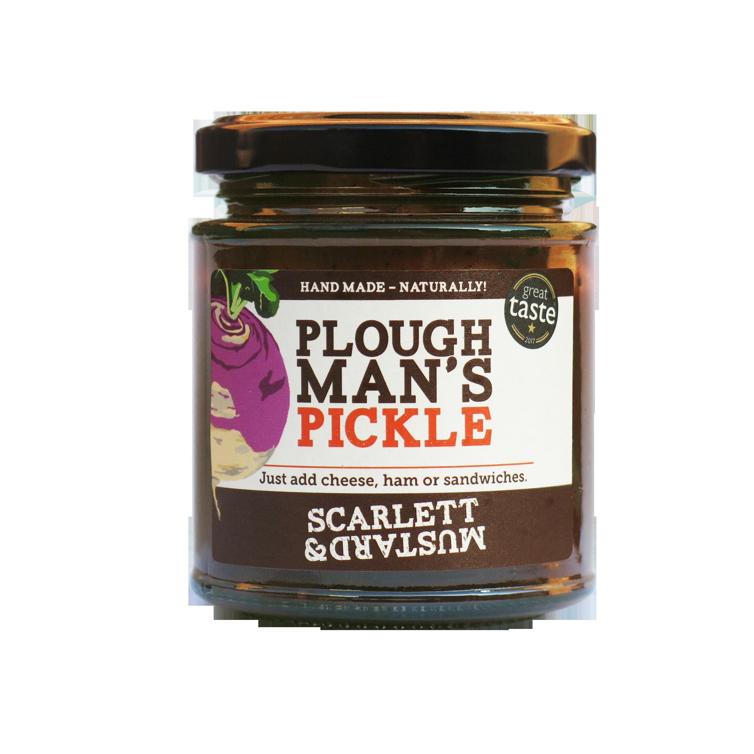 Scarlett & Mustard Ploughman's Pickle