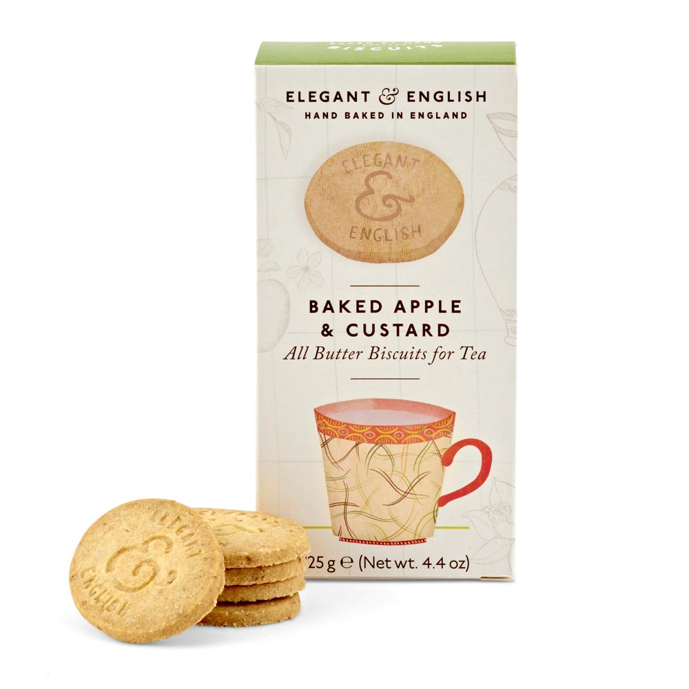 Artisan Biscuits Elegant & English Baked Apple & Custard