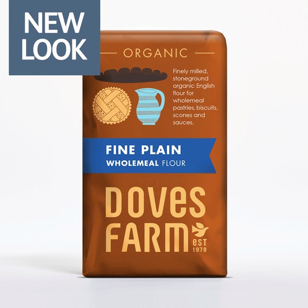 Doves Farm Organic Fine Plain Wholemeal Flour