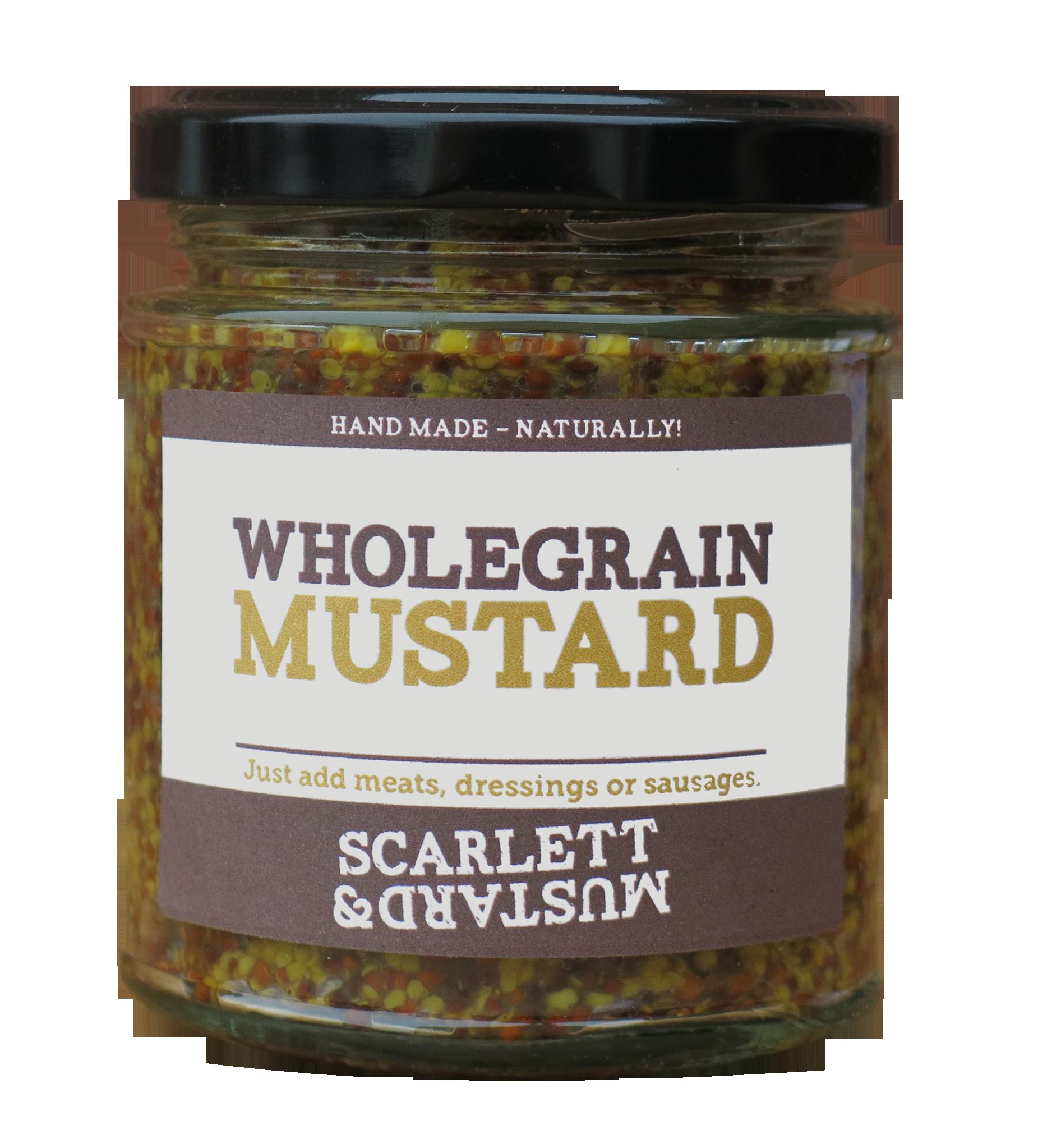 Scarlett & Mustard Wholegrain Mustard