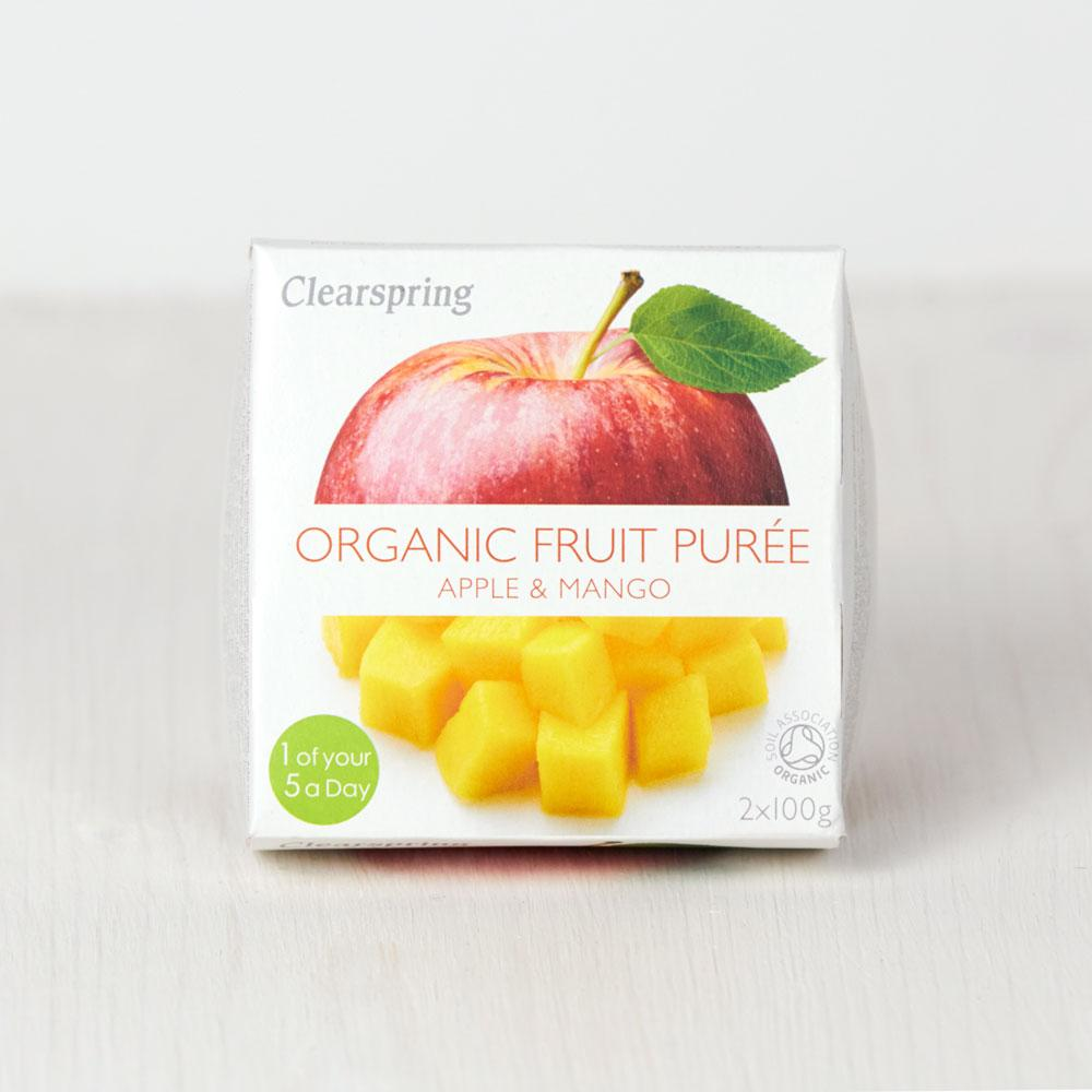 Clearspring Organic Fruit Puree - Apple & Mango
