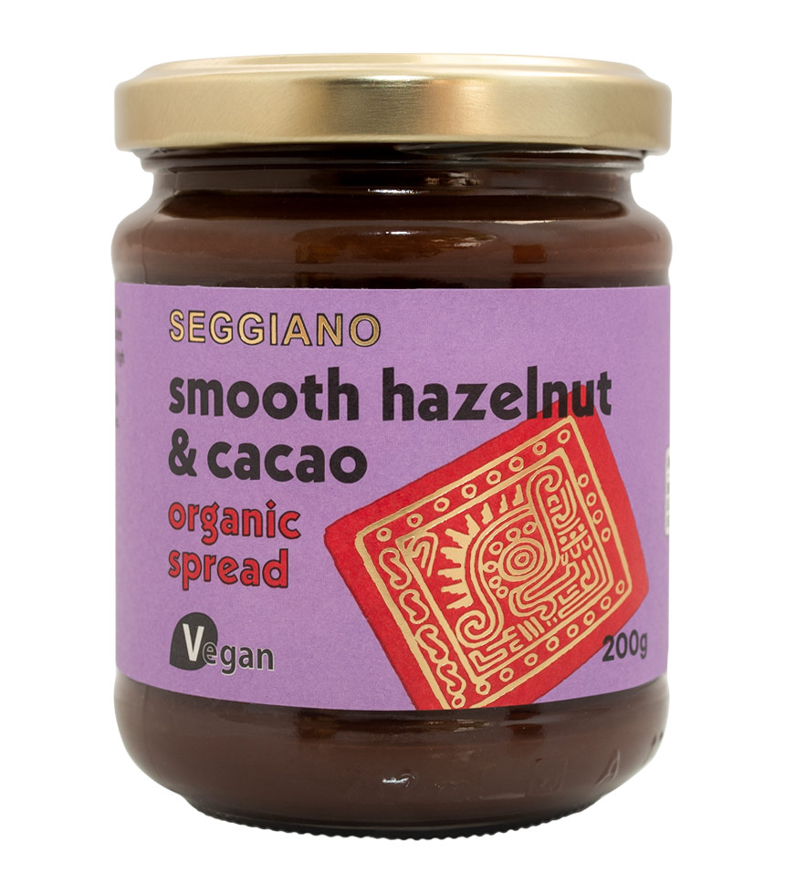 Seggiano Organic Smooth Chocolate Hazelnut & Cacao Spread 200g