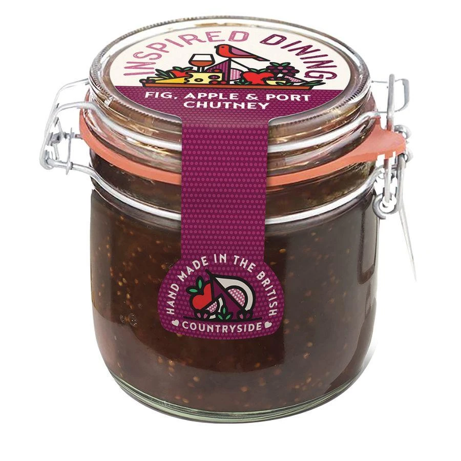 Inspired Dining Fig Apple & Port Chutney