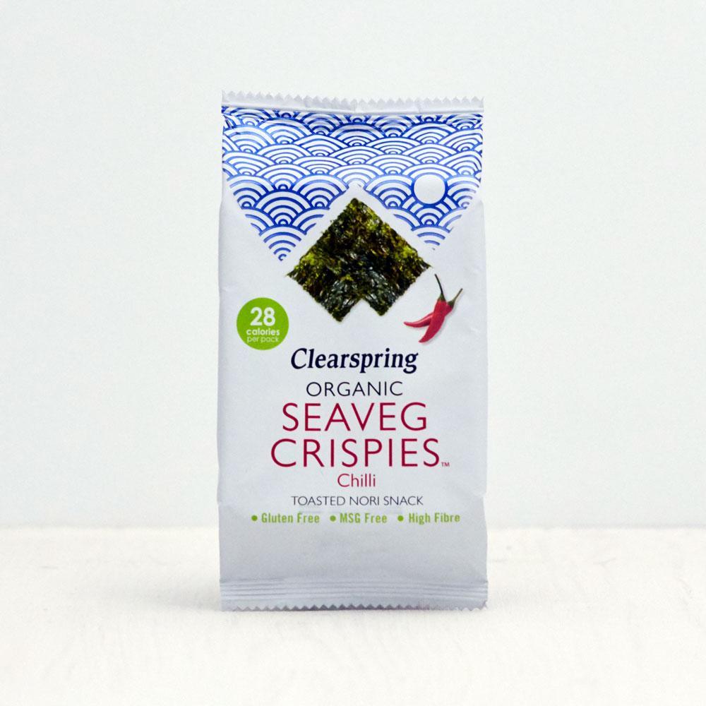 Clearspring Seaveg Chilli Crispies