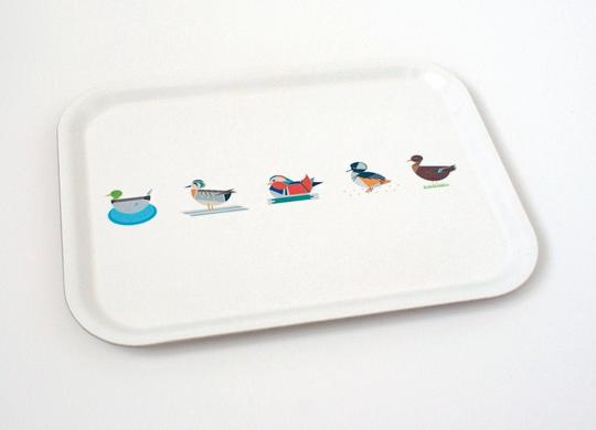Ellie Good Small Duck Tea Tray