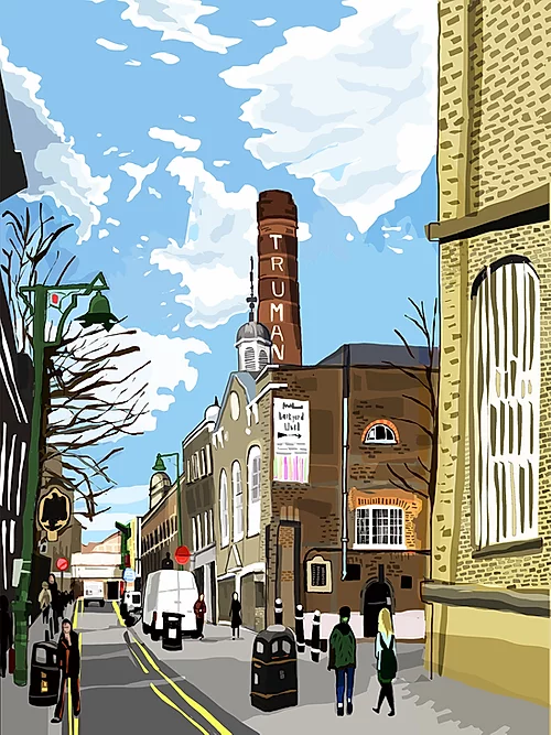 Tomartacus Print Truman Brewery, Brick Lane